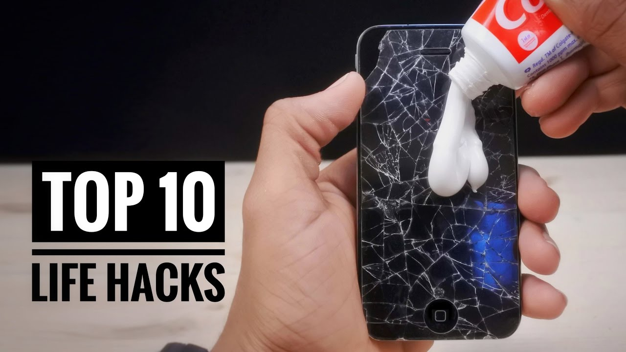 top 10 life hacks tricks and experiments