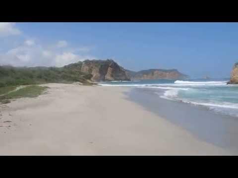 "#11 Ekwador - Plaża ""la tortuga"" w Parku Narodowym Machalilla"