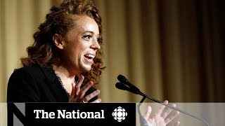 Comedian Michelle Wolf roasted U.S. President Donald Trump at the annual White House Correspondents' Dinner., From YouTubeVideos