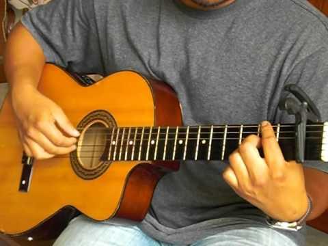 VINE A ADORAR A DIOS CON TUTORIAL (Solo Guitarra Acustica ...
