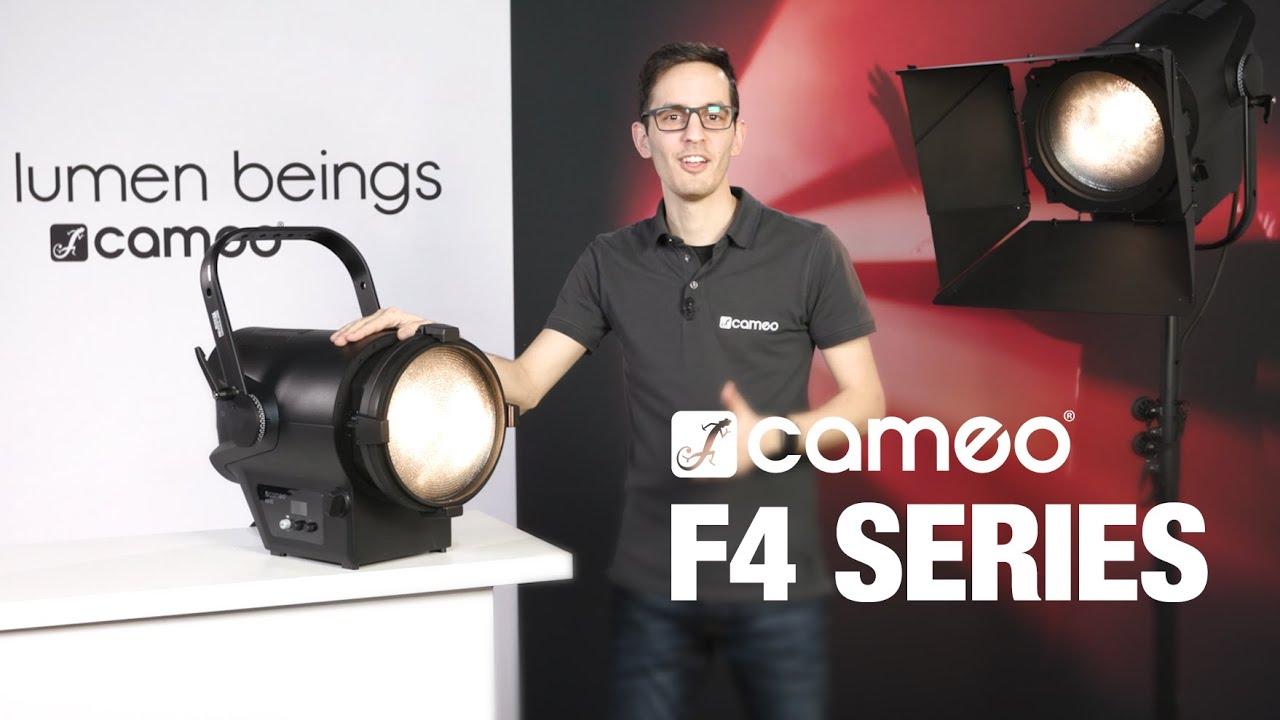 Cameo F4 Series - High-Performance Fresnel Spotlight