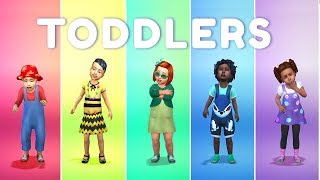 NEW! THE SIMS 4 TODDLER STUFF!!! | Review/Reaction Create a Sim