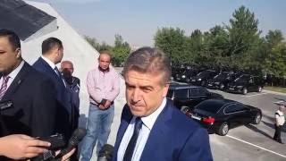Премьер-министр Карен Карапетян прибыл в Ераблур