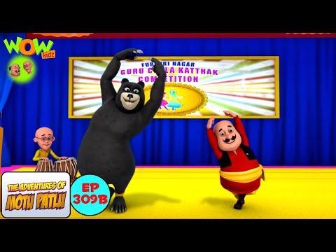 Motu ka katthak - Motu Patlu in Hindi - 3D Animation Cartoon - As on Nickelodeon thumbnail
