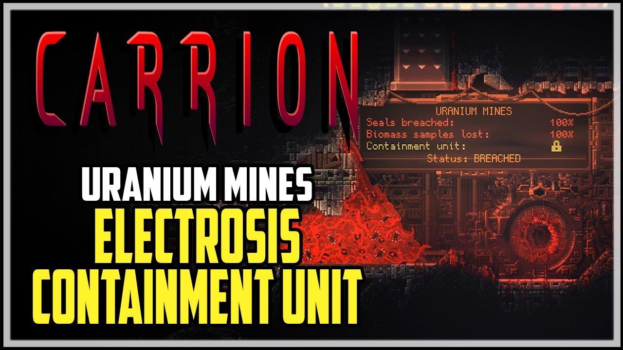 Carrion Uranium Mines Containment Unit Location Youtube