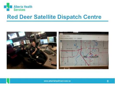 Alberta Health Services - Emergency Medical Services Update