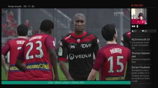 Video Gol Pertandingan LOSC Lille Metropole vs Dijon FCO