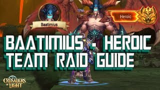 Baatimius HEROIC SKYBLAZE GUIDE - Crusaders of Light