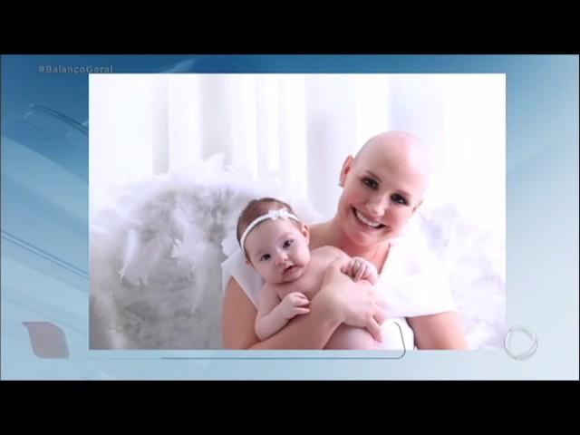 Mulher não desiste de gravidez ao receber diagnóstico de câncer e é curada