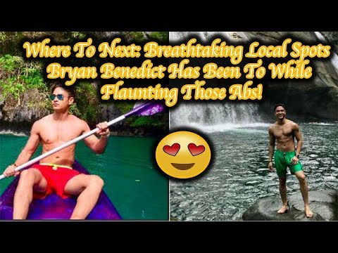 Where To Next Breathtaking Local Spots Bryan Benedict Has Been To While Flaunting Those Abs!