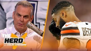 Download OBJ's production will not correlate to wins for Browns, Colin talks Dak contract | NFL | THE HERD Mp3 and Videos