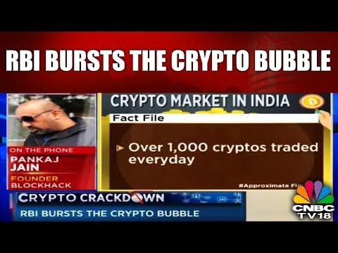 Crypto Crackdown | RBI Bursts the Crypto Bubble | CNBC TV18