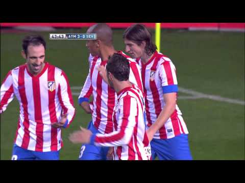 La Liga | Gol de Koke (3-0) en el Atlético de Madrid - Sevilla FC | 25-11-2012 | J13