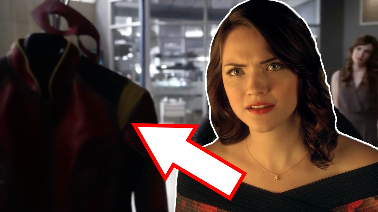 Jesse Quick Speedster Suit Revealed?   The Flash Season 3   YouTube