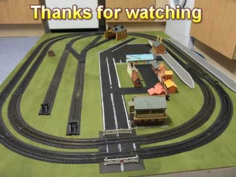 my first model railway layout introduction video