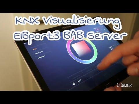 KNX Visualisierung| Smarthome| EIBport3 BAB Server| CubeVision| TECHNIKmittwoch DieSiwuchins
