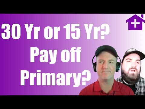 30 Year or 15 Year? Pay Off Primary or Not? Self Manage or Pay Property Manager Sell Now or Buy More
