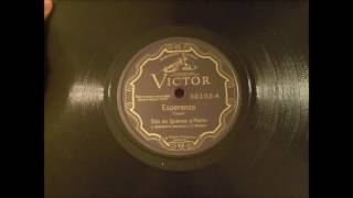 Trio de Quenas y Piano - Esperanza (June, 1930)
