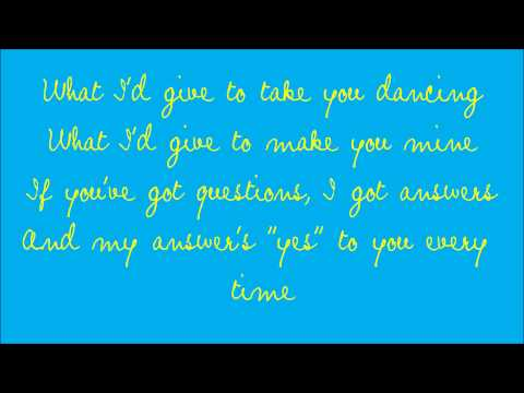 What I'd Give by Sugarland (with lyrics)