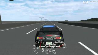 LFS Toyota Supra 786hp Turbo test.