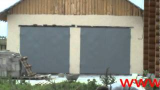 Металлические ворота и калитки для гаража.№1(Ворота и калитки для гаража изготовлены из металла 2мм,рама основная и рама ответная уголок 50х50мм + профиль..., 2011-09-23T10:11:46.000Z)
