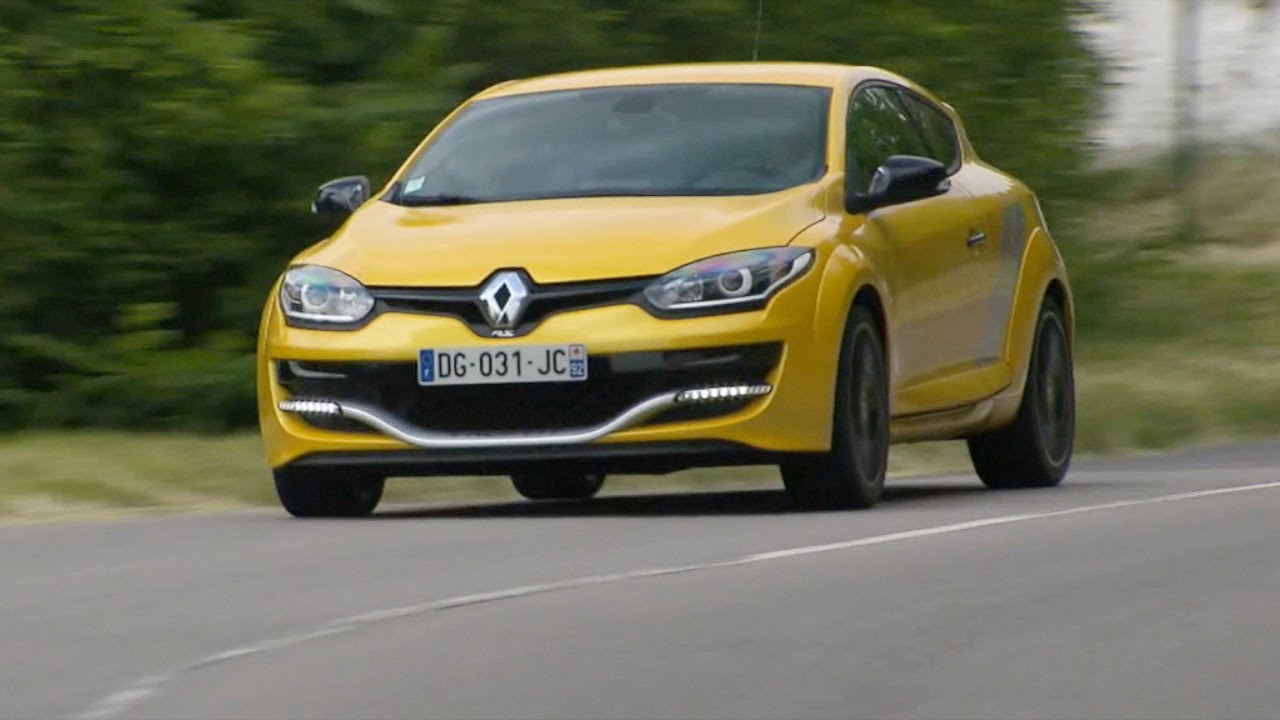 Renault Megane RS 265 2014 - test driving moments - YouTube