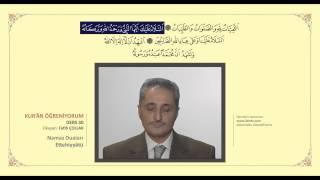 Kuran Öğreniyorum 30 - Ettehiyyatü (Fatih Çollak) 2017 Video