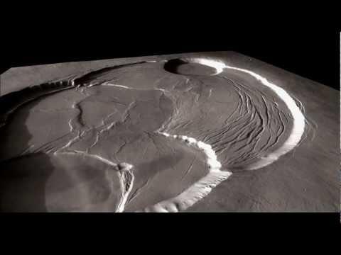Olympus Mons + Aureole - on Mars