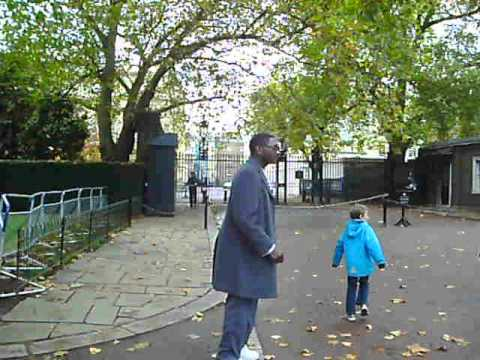 stable yard road (buckingham palace) royal guards!!