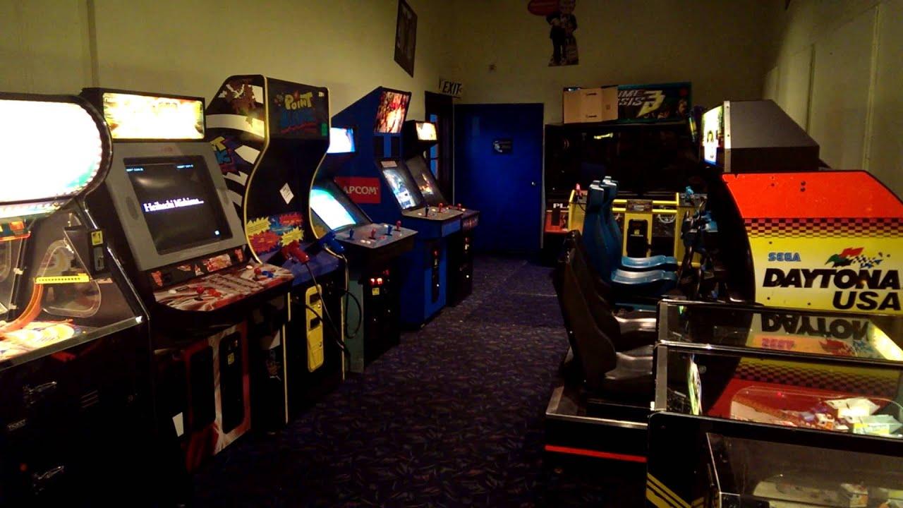 bebop arcade at boomers youtube