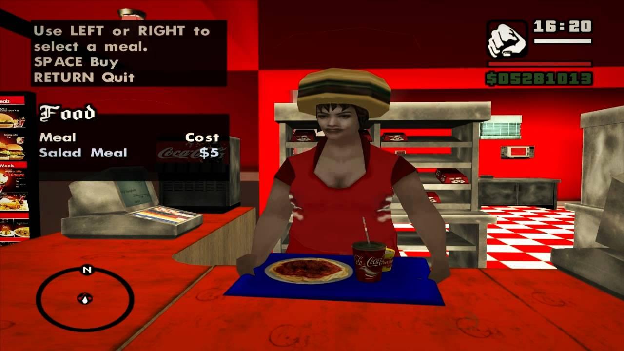 Gta  Fast Food Restaurants