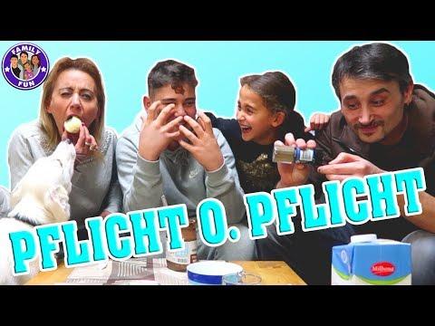 Download Youtube: PFLICHT oder PFLICHT Challenge live - Komplett ungeschnittenes Video - Family Fun