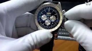 видео часы Breitling