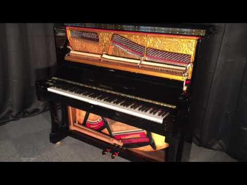 Grotrian Steinweg Klavier Modell 130 – klassisches Markenklavier - Berlin