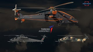 Turkish Aerospace Industries Releases New T629 Electric Unmanned Attack Helicopter