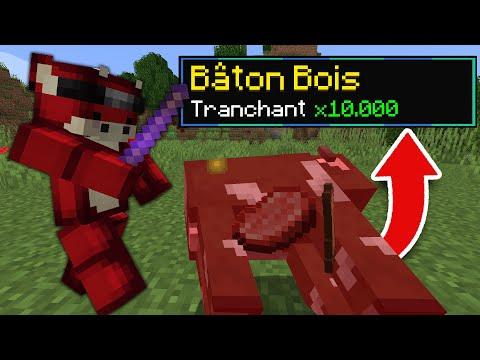 Minecraft mais tuer un Mob = Enchantement Cheaté..