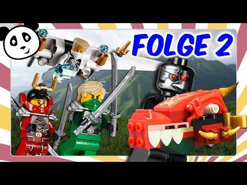 Lego Ninjago deutsch - Folge 2 Diebstahl in Ninjago City Kinderserie
