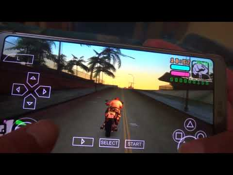 LG G6 - GTA Vice City Stories - PPSSPP Gameplay