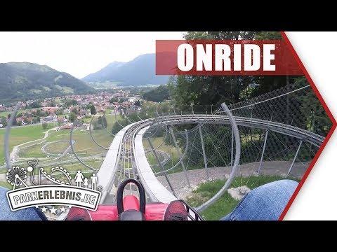 NEU 2018: Chiemgau Coaster - Sommerrodelbahn in Ruhpolding - Mitfahr-Video (POV OnRide)