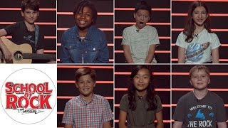 School of Rock on Broadway: Meet the New Class of Young Stars, Episode 1