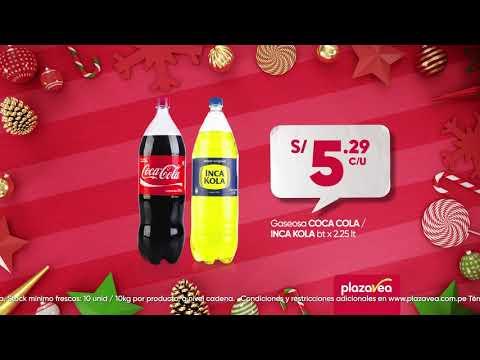 Coca Cola/Inca Kola bt S/5.29 y Pollo rostizado S/12.90