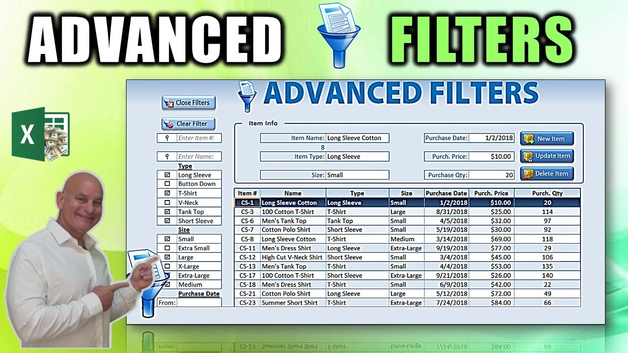 Learn How To Create This AMAZING Excel ONE CLICK Dynamic Filter Workbook