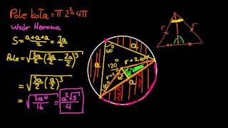 Video Pole trójkąta równobocznego wpisanego w okrąg download MP3, 3GP, MP4, WEBM, AVI, FLV Agustus 2017