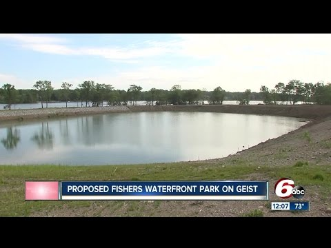 Fishers plans waterfront park at Geist Reservoic