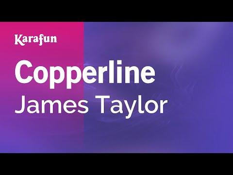 Karaoke Copperline - James Taylor *