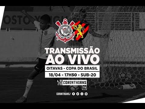 AO VIVO - Corinthians x Sport - Copa do Brasil Sub-20