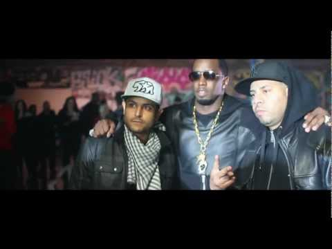 """French Montana """"Ocho Cinco"""" Ft Diddy, Machine Gun Kelly, Red Cafe & King Los 