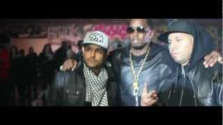 "French Montana ""Ocho Cinco"" Ft Diddy, Machine Gun Kelly, Red Cafe & King Los 