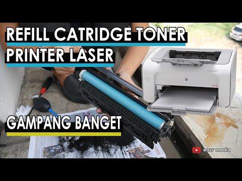 Cara isi ulang tinta Printer HP Deskjet 2623 tinta cartridge.
