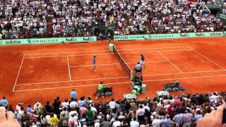 Nadal murray roland garros 2011 match point
